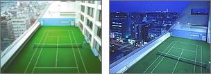 TACサンプラザ スポーツスペース テニスコート