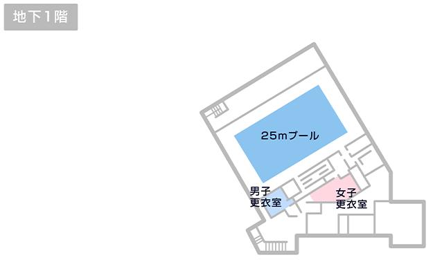 玉川中学校温水プール マップ