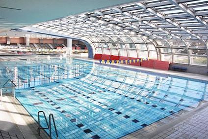総合運動場温水プール 25mプール