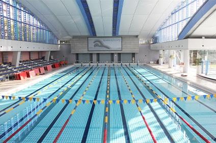 総合運動場温水プール 50mプール