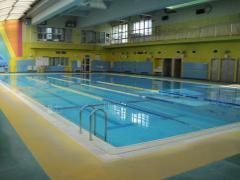 西部地区プール(緑ヶ丘小学校屋内プール) 屋内温水25mプール