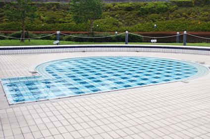 総合運動場温水プール 幼児プール 屋外