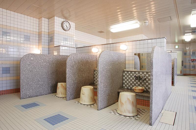 セントラルウェルネスクラブときわ台 浴室カラン