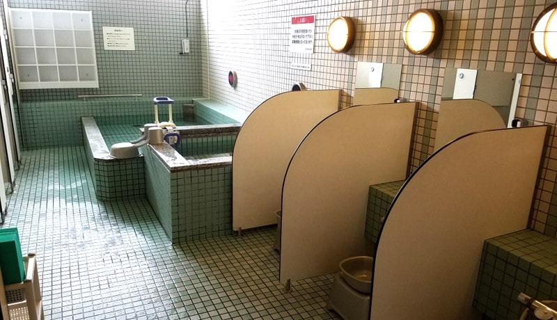 アリススポーツクラブ 浴室