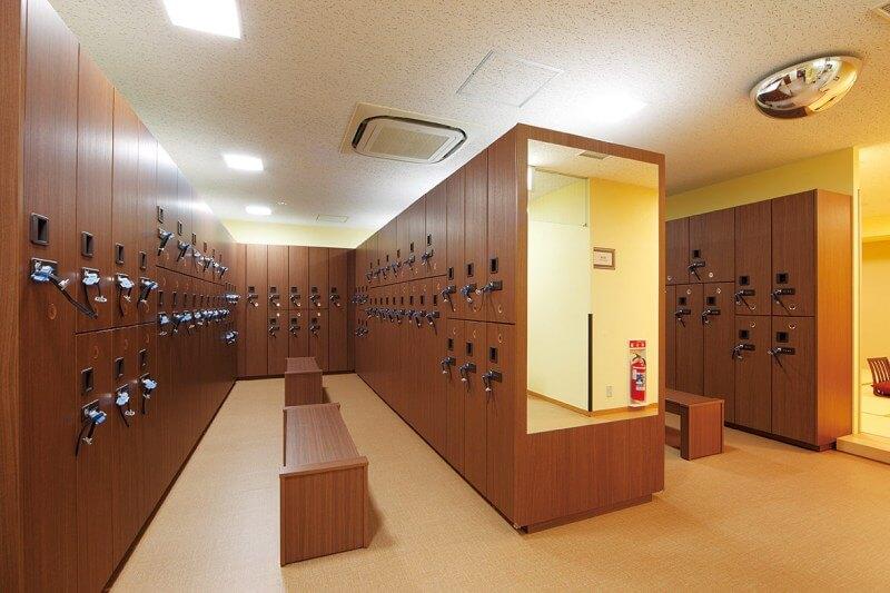 セントラルウェルネスクラブ24京成小岩 男性用ロッカールーム