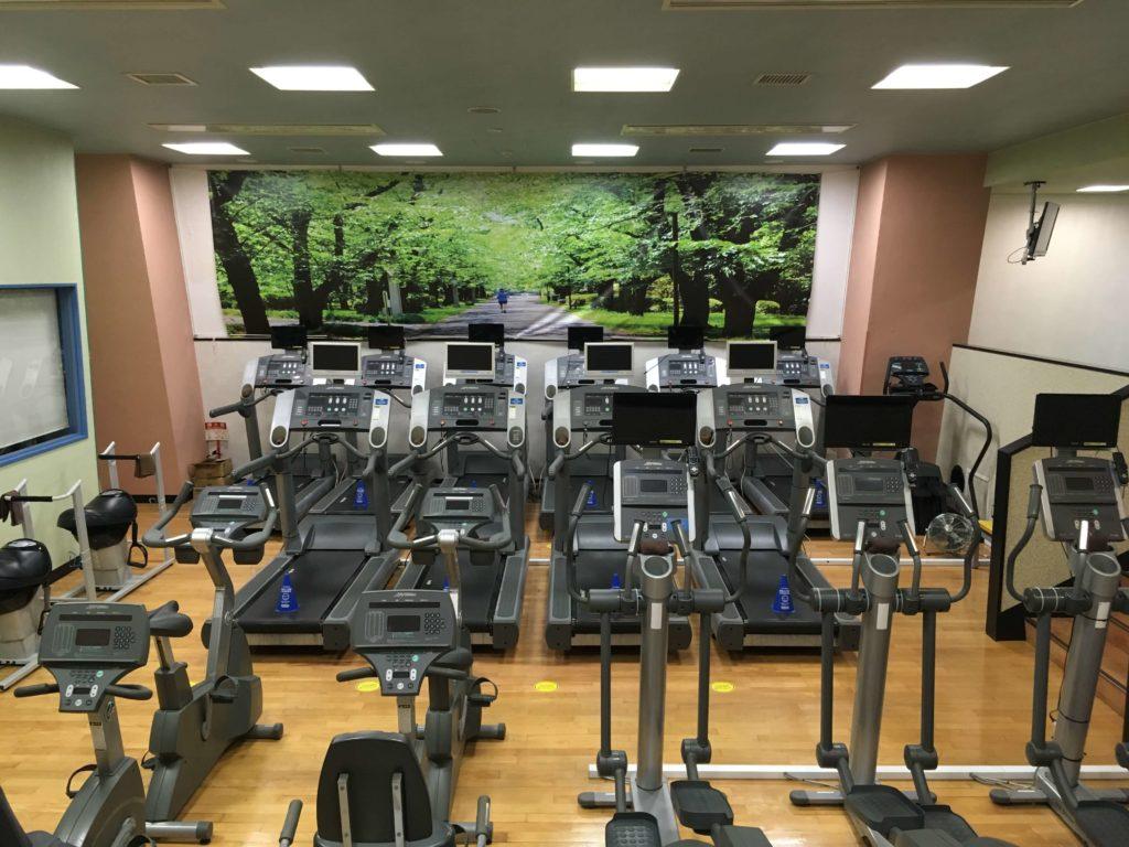 セントラルフィットネスクラブ竹の塚 有酸素エリア