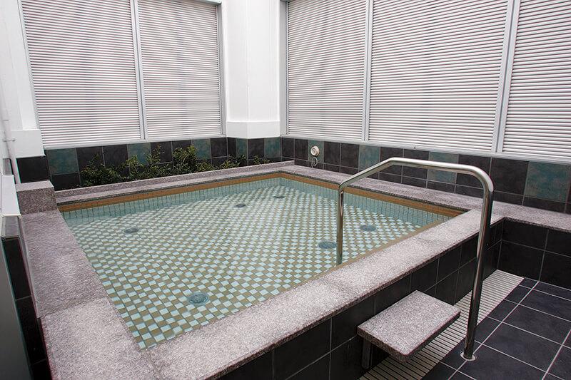 セントラルウェルネスクラブときわ台 露天風呂