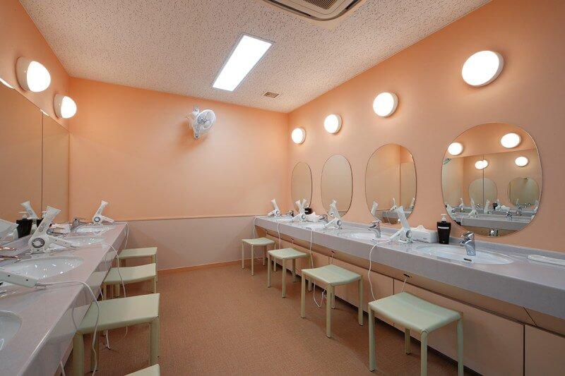 セントラルウェルネスクラブ24京成小岩 パウダーコーナー
