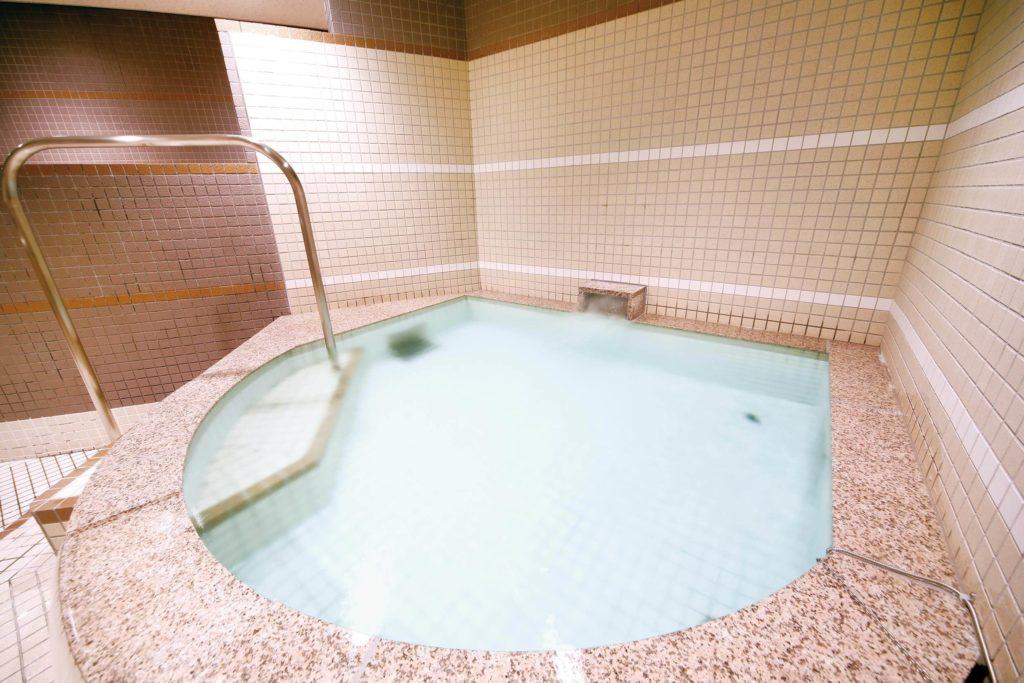 セントラルフィットネスクラブ亀有 水風呂