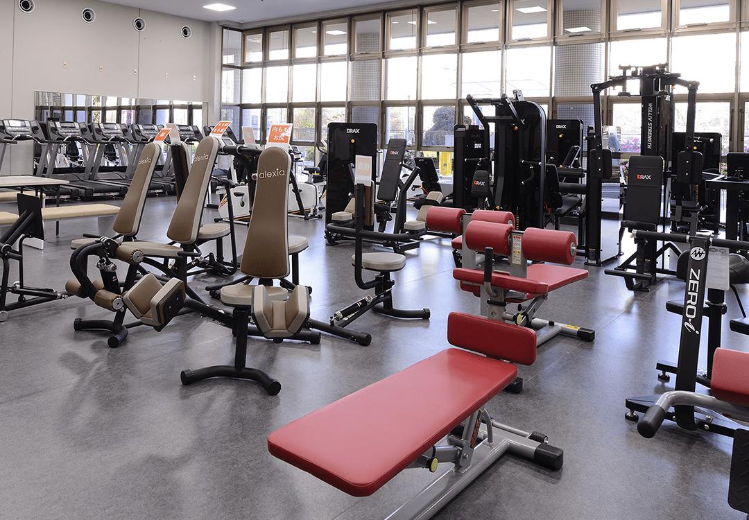 荒川総合スポーツセンター トレーニングルーム