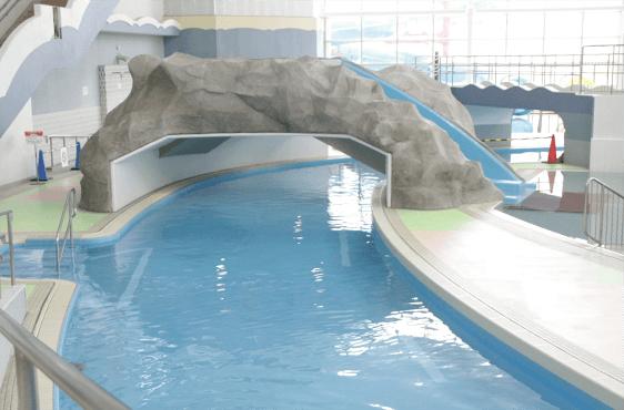 安城市レジャープール マーメイドパレス 屋内流水プール