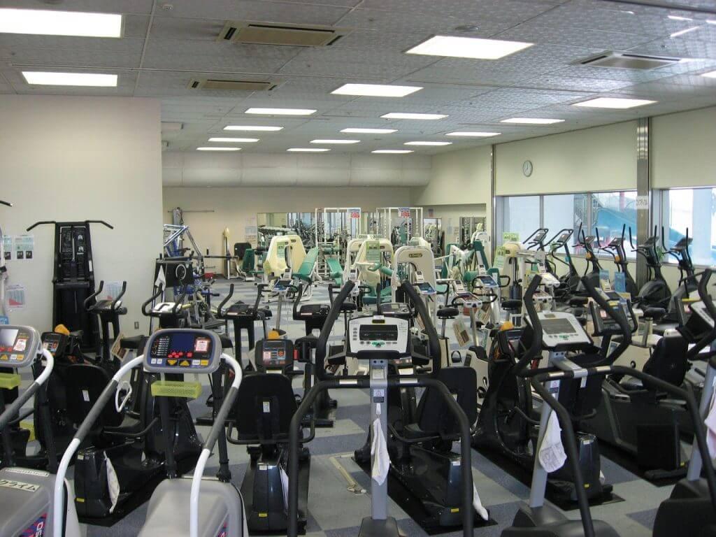 サンフロッグ春日井 トレーニングルーム