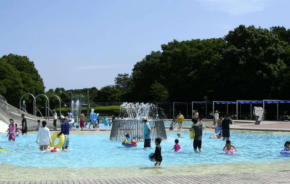 国営昭和記念公園レインボープール 冒険プール