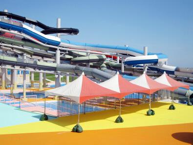 芝政ワールド 無料スペース 屋外テント