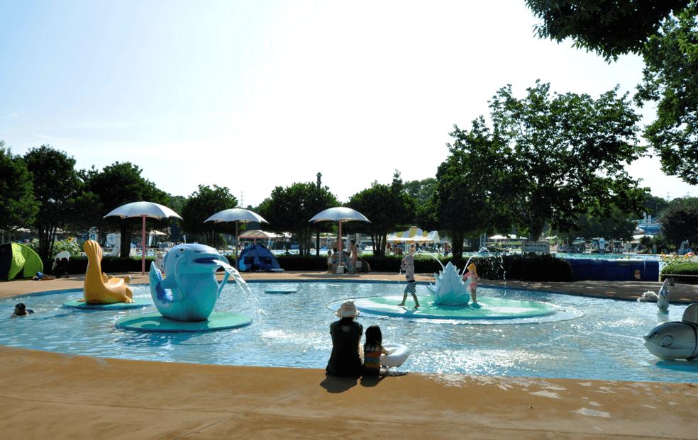 国営昭和記念公園レインボープール 幼児プール