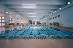 多摩市立温水プール アクアブルー多摩 50mプール