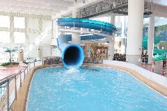 多摩市立温水プール アクアブルー多摩 アイランドスライダー