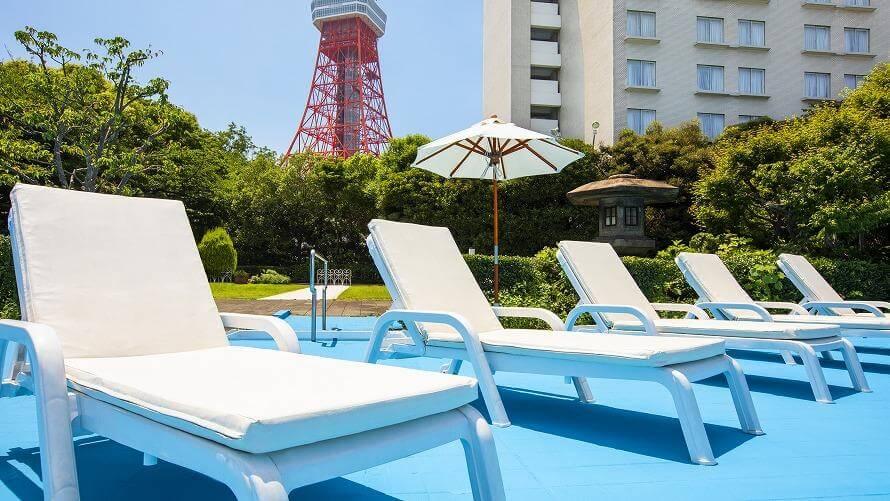 東京プリンスホテル GARDEN POOL プールサイド