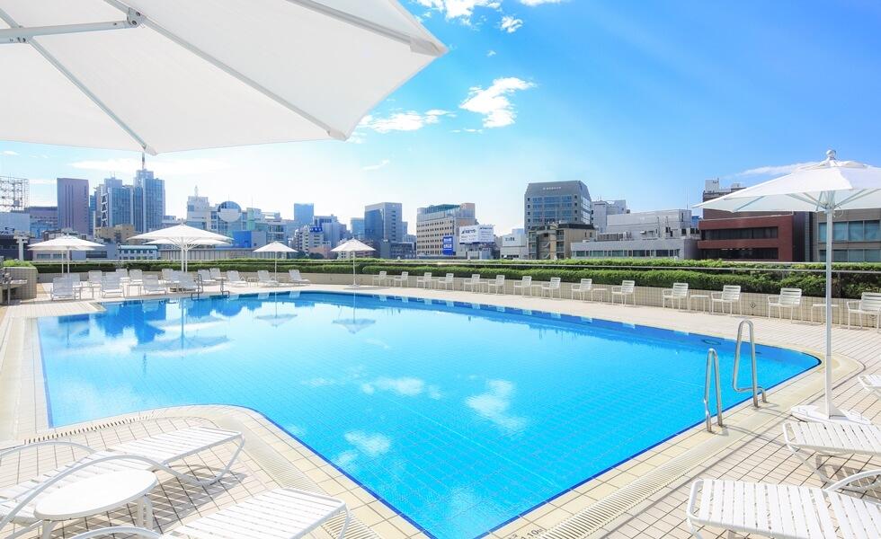 東京ドームホテル ガーデンプール