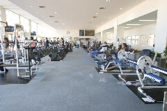 多摩市立温水プール アクアブルー多摩 トレーニングルーム